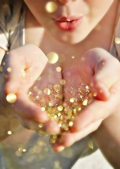 #gold #sparkles