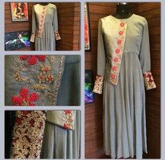 #BollywoodWesterndress #DesignerBollywoodWesterndress #LatestwesterndressOnline #StylishWesterndressSale # Maharani Designer Boutique  To buy it click on this link  http://maharanidesigner.com/Anarkali-Dresses-Online/western-dresses/ Rs-7500. Hand work. Fabric-Georgette. Avaiable in all colors. For any more information contact on WhatsApp or call 8699101094 Website www.maharanidesigner.com