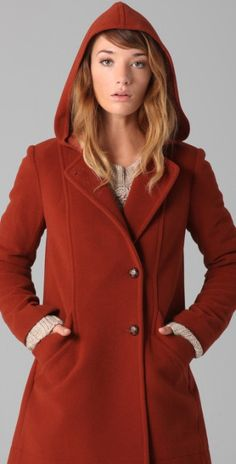womens petite hooded peacoats - Google Search