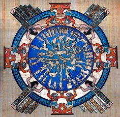 Ancient Egyptian Astronomical Calendar: Into the Wide Blue Yonder