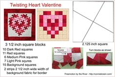 4 x 6 reference card twister heart tutorial