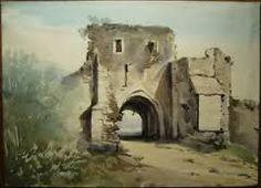 """Résultat de recherche d'images pour """"aquarelles ruines"""""""