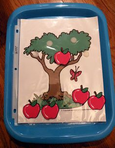 The Fantastic Five: Apple Tot Trays and Explorer Box