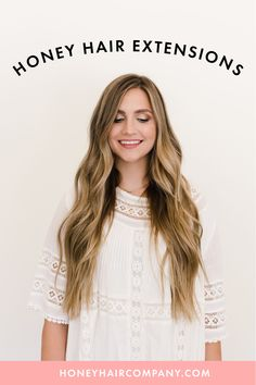 The best quality hair extensions. #hairgoals #hairinspo #bronde #darkblonde #blondebalyage #hairextensions Honey Hair, Tape In Hair Extensions, Dark Blonde, Remy Hair, Hair Inspo, Hair Goals, Lace, Collection, Women