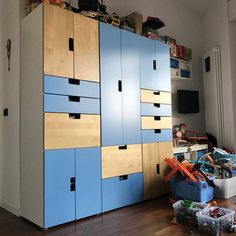 Ikea stuva this combination 219 for the boys 39 room kids room ideas ikea stuva girls - Letto mammut ikea ...