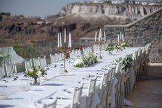 Wedding reception with view! Photo from real destination wedding in Santorini. See more See more here Contact: Service - Photographers Website - www.photographergreece.com googletag.cmd.push(function() { googletag.display('div-gpt-ad-1509737580372-0'); });