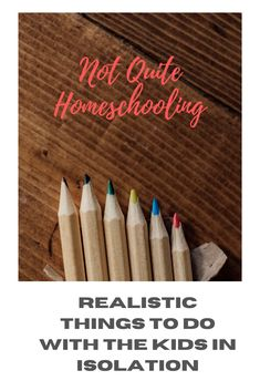 We're not all teachers so homeschooling can be hard. The thing is, you're not a teacher. There's no need to try to be one now. Rather try these homeschooling ideas for isolation activities for the kids. Educational (to an extent), fun and, most important of all, easy to execute.