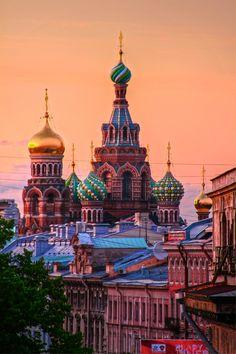 Sunset & Russia