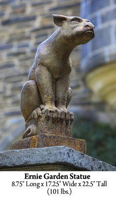 Ernie Garden Statue