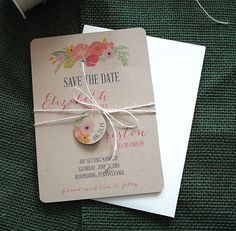 Hey, I found this really awesome Etsy listing at https://www.etsy.com/listing/183117951/earthy-vintage-floral-save-the-date-card