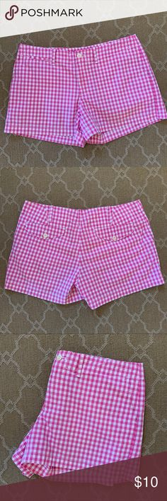 Mixed Intimate Items Considerate Lilly Pulitzer Women's Hot Pink Shorts Size 4 Guc Highly Polished