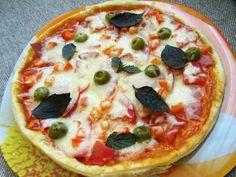 Итальянская пицца с сыром моцарелла рецепт с фото