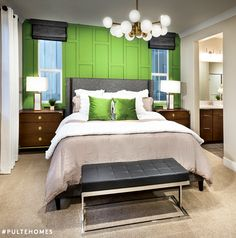 Introducing the new Pantone Color of the Year — Greenery! We  how this refreshing, revitalizing shade pairs with neutrals. | Pulte Homes