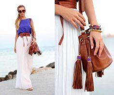 tendencia maxi falda moda otoño
