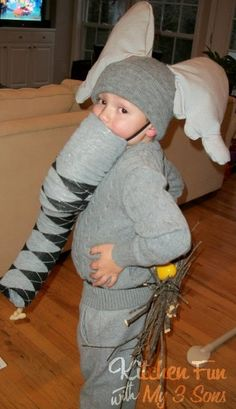 Kitchen Fun With My 3 Sons: Horton Hatches the Egg Costume!