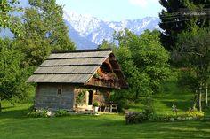 Romantische Hütte  in Trieblach