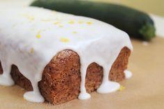 Zucchini Kuchen, Vegan, zucchini lemon cake