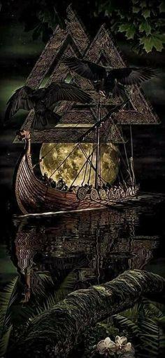 Discover Viking Odin Norse Valhalla Sweatshirt, a custom product made just for you by Teespring. - Beautiful and quality Viking - Odin - Norse -. Odin Norse Mythology, Norse Pagan, Viking Symbols, Viking Runes, Mayan Symbols, Egyptian Symbols, Ancient Symbols, Thor Norse, Glyphs Symbols