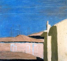 Giorgio Morandi (It. Patio in Via Fondazza Oil on canvas x 50 cm) Museo Bolonia Morandi lived and worked in the house in Via Fondazza 36 from 1910 until his death in Contemporary Landscape, Urban Landscape, Landscape Art, Landscape Paintings, Italian Painters, Italian Artist, Renaissance Artists, Paintings I Love, Art Plastique