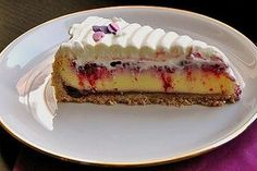 Hot Love Cheesecake 5 The post Hot love cheesecake appeared first on Dessert Factory. Rhubarb Desserts, Rhubarb Cake, Nutella Recipes, Cheesecake Recipes, Pie Recipes, Pie Co, German Baking, Sour Cream Cake, Butter Tarts