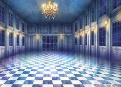 Salon, Background, Anime Background, Anime Scenery, Visual Novel Scenery, Visual…