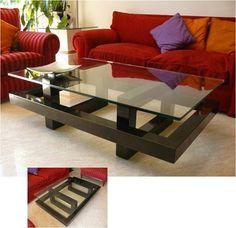 Home Desng Diy Offices Ideas Centre Table Design, Tea Table Design, Center Table, Pallette Furniture, Diy Pallet Furniture, Iron Furniture, Modern Furniture, Furniture Design, Living Room Table Sets