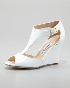 Emejing White Wedding Wedge Shoes Gallery - Styles & Ideas 2018 ...