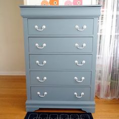 Dresser painted in Champness from Fusion Mineral Paint
