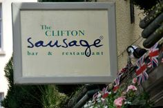 The Clifton Sausage Bar & Restaurant in Bristol, Bristol  http://www.cliftonsausage.co.uk/clifton/