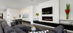 Heatmaster Seamless Gas Log Fire 1.2metre || $7762 || Pivot Stove Geelong