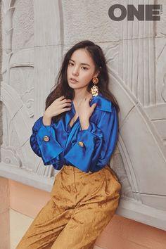 Min Hyo Rin - One Magazine January Issue '16 - Korean Magazine Lovers
