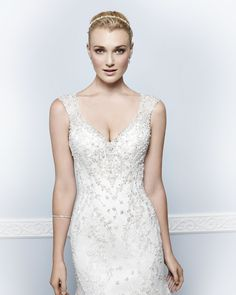 Kenneth Winston Couture Style 1657 #weddingdress #bridal