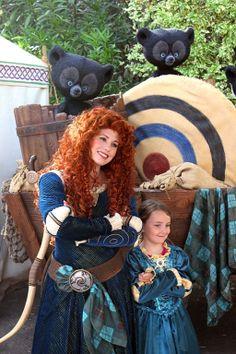 My little Princess Merida #disney #disneyland