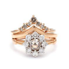 unique, engagement, nyc, designer, rose gold, yellow gold, diamonds, bridal, ring, white diamonds, wedding.