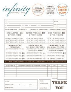 youth sports photography order form | 12 team order form » 12 team ...