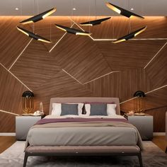 Explore the best mesmerizing Modern Bedroom Wall Design Ideas at Live Enhanced. Visit for more images and take some ideas about Bedroom Wall Design. Design Your Bedroom, Bedroom Wall Designs, Accent Wall Bedroom, Bedroom Decor, Bedroom Ideas, Bedroom Lighting, Bedroom Inspiration, Bedroom Colors, Entryway Decor