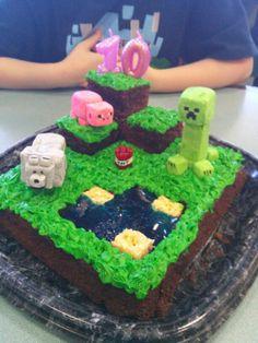 Minecraft Birthday Cake Walmart Birthday Cakes Cakes