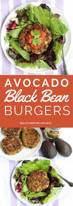 These tasty vegan avocado black bean burgers are delicious, filling, and easy on your wallet.