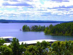 Table Rock Lake, Branson, MO - I love coming here.