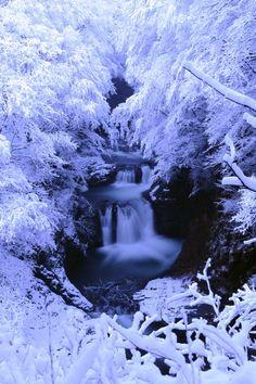 White Waterfall - Sendai, Miyagi, Japan