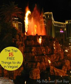 Planning a trip to Sin City? Check out this list before you go: The Top 25 FREE Things to do in Vegas!
