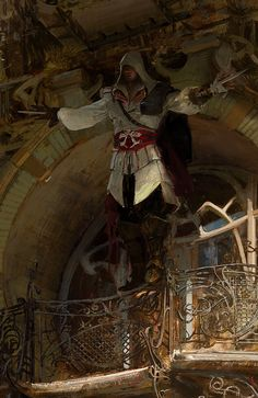 Assassin's Creed | Ezio by Craig Mullins | UbiWorkshop