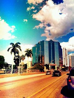 """sarasota, florida...I believe that is the blue building, I called it the """"blue goose."""""""