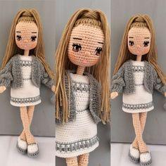 Image gallery – Page 45599014963274041 – Artofit Crochet Doll Tutorial, Crochet Doll Pattern, Crochet Coat, Cute Crochet, Knitted Bunnies, Crochet Disney, Barbie, Crochet Mermaid, Crochet Amigurumi Free Patterns