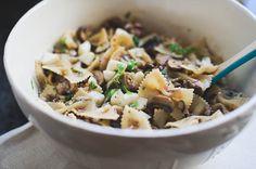 Warm Eggplant & Mushroom Pasta Salad looks really good @lirinbaker. Me love eggplant!