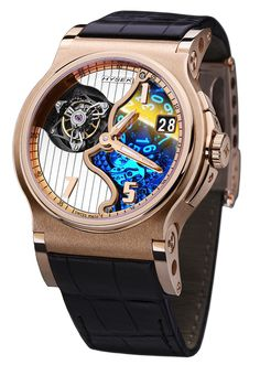 Hysek Tourbillon Rose gold #Watch