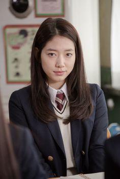 Park Shin Hye looks innocent and pure in a school uniform « KoreaDotCom Park Shin Hye, Korean Actresses, Korean Actors, Korean Dramas, Korean Star News, Korean Beauty, Asian Beauty, Lee Min Ho Kdrama, Prettiest Actresses