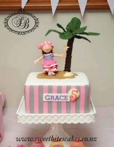 princes and pirate cake   Pirate Cake   Pirate Princess Birthday   Pinterest
