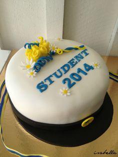 Studentmössa how to Girl Shower Cake, Shower Cakes, Bagan, Fika, Novelty Cakes, Party Cakes, No Bake Cake, Birthday Celebration, A Table