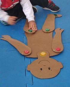 Jardín Actividades E Ideas, Actividades Ideas - Diy Crafts - maallure Creative Activities For Kids, Preschool Learning Activities, Motor Activities, Preschool Activities, Kids Learning, Kids Crafts, Monkey Crafts, Kids Education, In Kindergarten